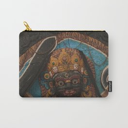 Temples and Architecture of Kathmandu City, Nepal 003 Carry-All Pouch