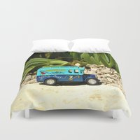 bar Duvet Covers featuring Jazz bar by Bitifoto