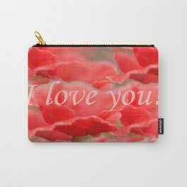 Love You! Red Poppies #decor #society6 Carry-All Pouch