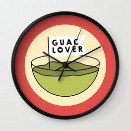 Guac Lover Wall Clock