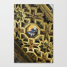 Basilica of Our Lady in Trastevere Canvas Print