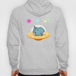 Astronaut elephant: Galaxy mission Hoody