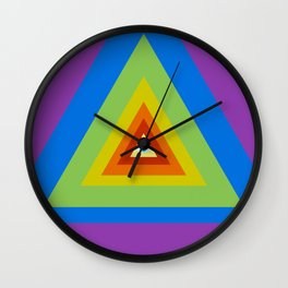 All Seeing, All Knowing Wall Clock