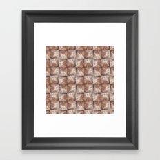 Wall Pattern Framed Art Print