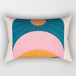 Abstraction_Sunshine_Minimalism_001 Rectangular Pillow