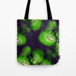 Kiwi Fractals Tote Bag