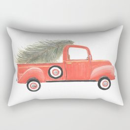 Nana's Red Truck Rectangular Pillow