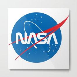 NASA Logo Metal Print