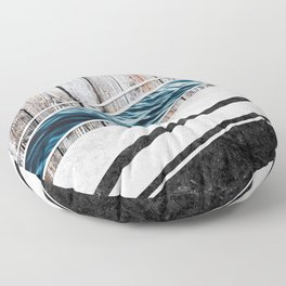 Striped Materials of Nature I Floor Pillow
