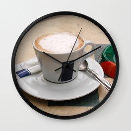 Cafe and Ashtray Paris Wall Clock