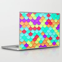 scales Laptop & iPad Skins featuring Scales by White Wolf Wizard