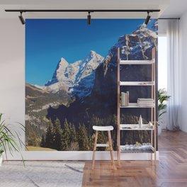 Swiss Alps Wall Mural