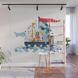 little sailers Wall Mural
