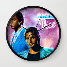 Miami Vice  Wall Clock