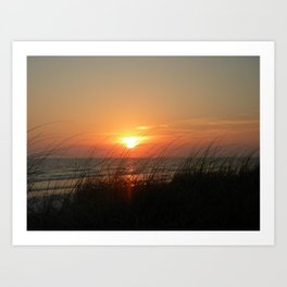 Sunset Fort Myers Beach Florida Art Print