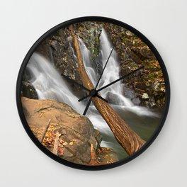 Rose River Falls Wall Clock