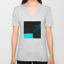 Black & Blue Unisex V-Neck