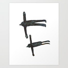 Flight Pair Art Print