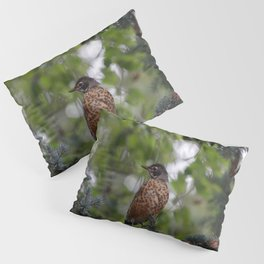 Backyard Visitor ~ II Pillow Sham