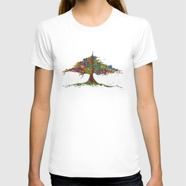 The Stained Glass Tree T-shirt