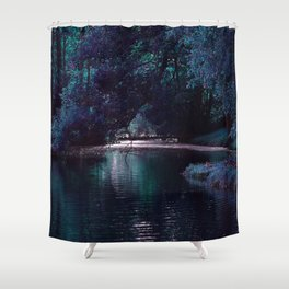 Mystical Lake Shower Curtain