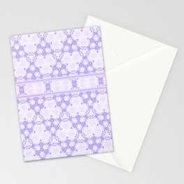 Lavender decor Pattern Design Stationery Cards