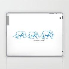 I Got Your Back - Elephant Print Laptop & iPad Skin