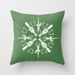 Get Crackin' Throw Pillow