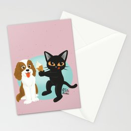 Share the ice cream Stationery Cards