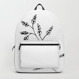 Branch White Backpack