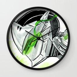Genji Shimada (島田源氏) Wall Clock