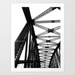 The Brigde Art Print