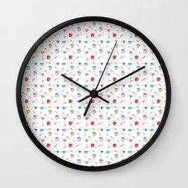 Happy breakfast Wall Clock