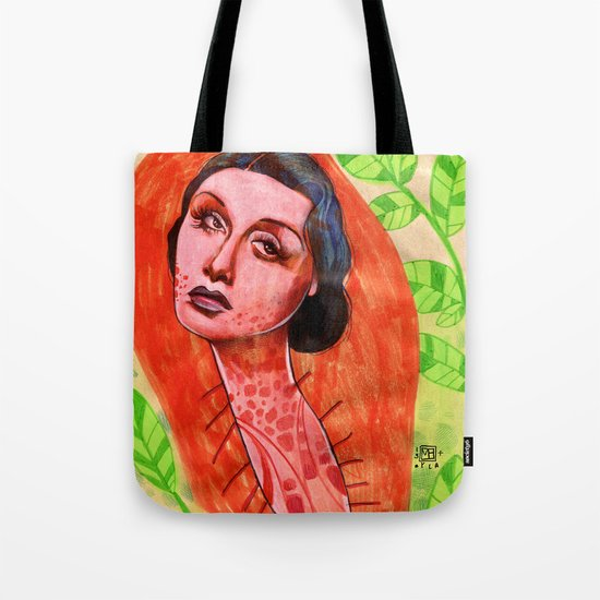SAD CHRYSALIS Tote Bag