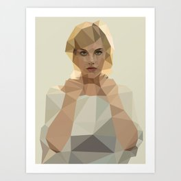 Blonde Summer Art Print
