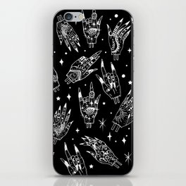 Floating Witchy Goth Hands iPhone Skin
