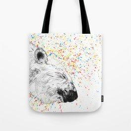 Polar Bear // Endangered Animals Tote Bag