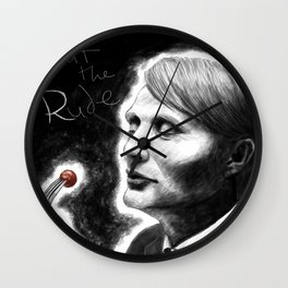 Eat the Rude Wall Clock