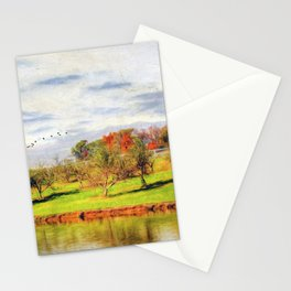 Across the Pond Stationery Cards