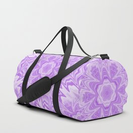 Glitched flowing ultra-violet kaleidoscope Duffle Bag