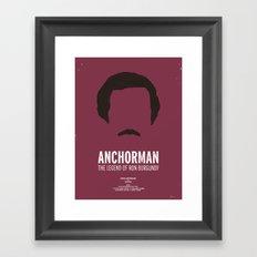 Dress The Part - Anchorman Framed Art Print