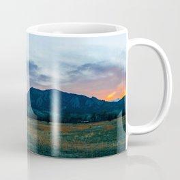 Boulder Sunset Coffee Mug