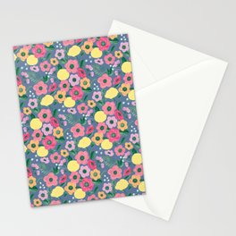 Peri Garden Floral Stationery Cards