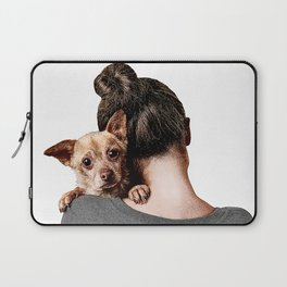 Rescue Puppy. Laptop Sleeve