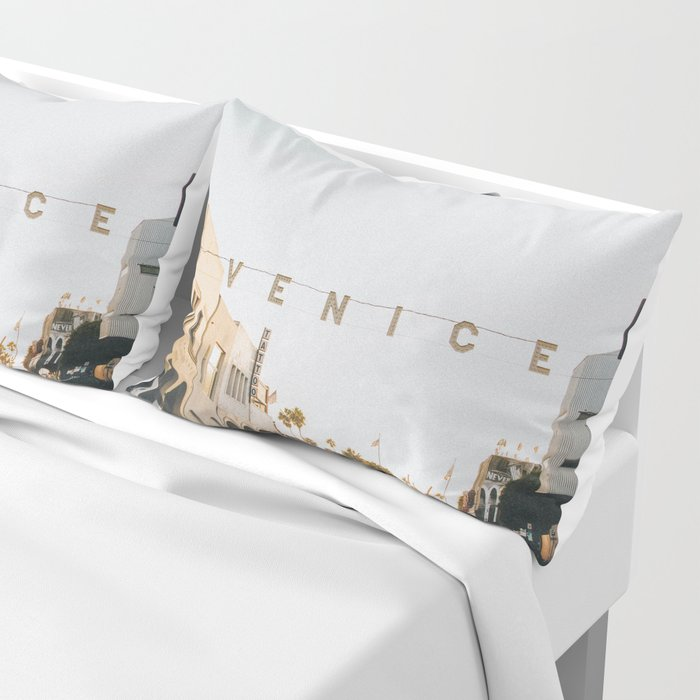 venice / los angeles, california Pillow Sham