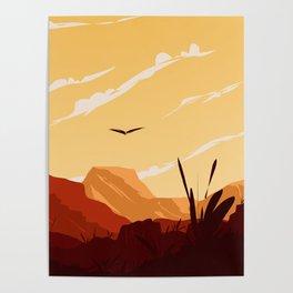 West Texas Landscape Poster