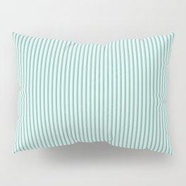 Mint Sampler Stripes Pillow Sham