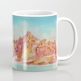 Broken Top Lake Coffee Mug