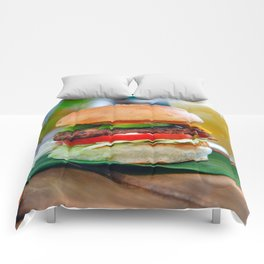 Gourmet Burger and Smoothies  Comforters