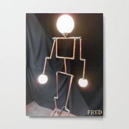Lamp Man - FredPereiraStudios_Page_12 Metal Print